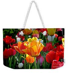 Tulips In The Spring Weekender Tote Bag