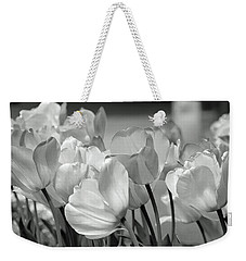 Weekender Tote Bag featuring the photograph Tulips by JoAnn Lense