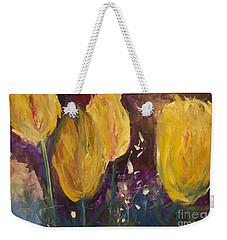 Tulips Weekender Tote Bag by Gallery Messina