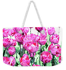 Tulips  Weekender Tote Bag by Patricia Hofmeester