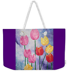 Tulips - Red-yellow-pink Weekender Tote Bag