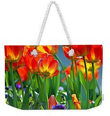 Tulips Weekender Tote Bag by Robert Meanor