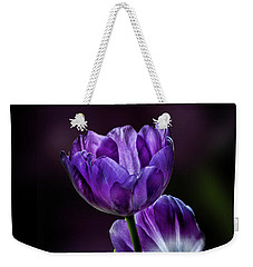 Tulips Weekender Tote Bag by Shirley Mangini