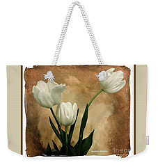Tulips Three Weekender Tote Bag