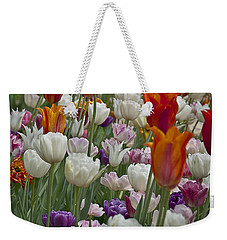 Tulips... Tulips... Everywhere Weekender Tote Bag