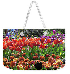 Tulips, Tulips, Tulips And More Weekender Tote Bag