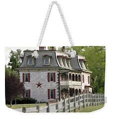 Weekender Tote Bag featuring the photograph Tulpehocken Manor Plantation Historic Site  by David Dehner