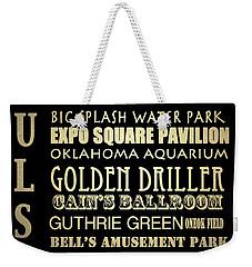 Tulsa Oklahoma Famous Landmarks Weekender Tote Bag