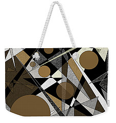 Confusion Weekender Tote Bag by Val Arie