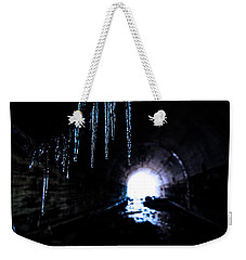 Tunnel Icicles 2 Weekender Tote Bag