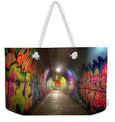 Tunnel Of Graffiti Weekender Tote Bag