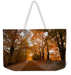 Tunnel Through Morning Backlight Weekender Tote Bag