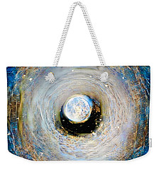 Tunnel To The Moon Weekender Tote Bag