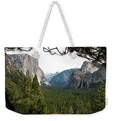 Tunnel View Framed Weekender Tote Bag