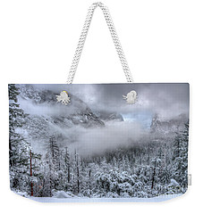 Tunnel View Yosemite National Park Ansel Adams Weekender Tote Bag