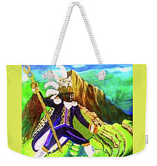 Tupac Amaru II Weekender Tote Bag by Talisa Hartley