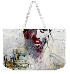 Tupac Graffitti 2656 Weekender Tote Bag by Jani Heinonen