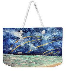 Turbulence At  Nj Shore Weekender Tote Bag