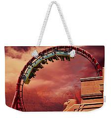 Turbulence Weekender Tote Bag by Iryna Goodall