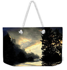 Turbulent Weekender Tote Bag by Elfriede Fulda