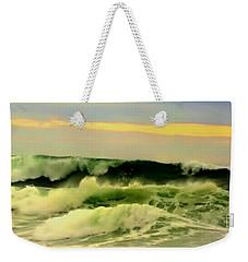 Turbulent Ocean Swell Weekender Tote Bag