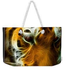 Turbulent Tiger Weekender Tote Bag