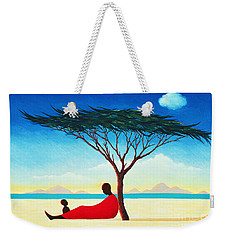 Turkana Afternoon Weekender Tote Bag by Tilly Willis