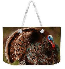 Turkey In The Straw Weekender Tote Bag