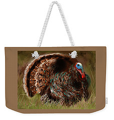 Turkey In The Straw Weekender Tote Bag