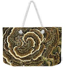 Turkey Tail Fungus Weekender Tote Bag