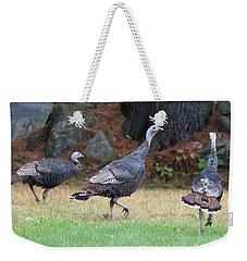 Turkey Trio Weekender Tote Bag