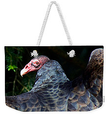 Turkey Vulture Weekender Tote Bag by Sean Griffin