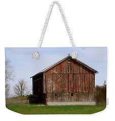 Turkey Vultures Hovering Around The Barn Weekender Tote Bag