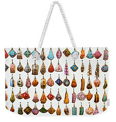 Turkish Earrings Weekender Tote Bag