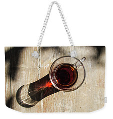 Turkish Tea On A Wooden Table Weekender Tote Bag
