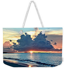 Turks And Caicos Grace Bay Beach Sunset Weekender Tote Bag