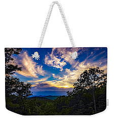 Weekender Tote Bag featuring the photograph Turn Down The Lights. by Kendall McKernon