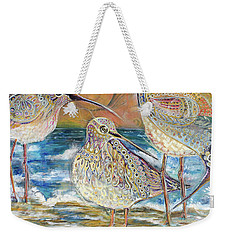 Turning Of The Tides Weekender Tote Bag