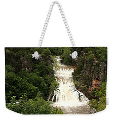 Turner Falls Waterfall Weekender Tote Bag