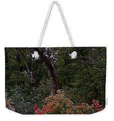 Weekender Tote Bag featuring the digital art Turning by Stuart Turnbull