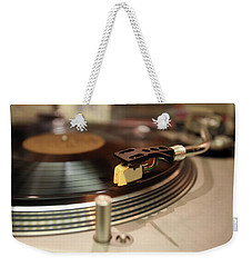 Turntable Weekender Tote Bag