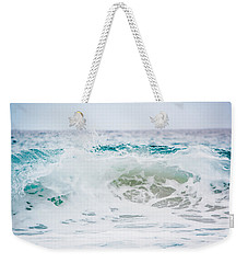 Turquoise Beauty Weekender Tote Bag by Shelby Young