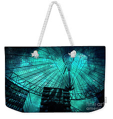 Turquoise Cosmic Berlin Weekender Tote Bag