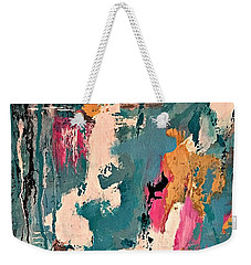 Turquoise Reflections No. 1 Weekender Tote Bag