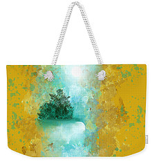 Turquoise River Weekender Tote Bag by Jessica Wright