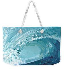 Turquoise Room Weekender Tote Bag