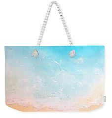 Turquoise Waters Weekender Tote Bag by Karyn Robinson