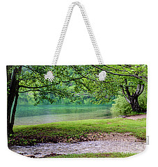 Turquoise Zen - Plitvice Lakes National Park, Croatia Weekender Tote Bag