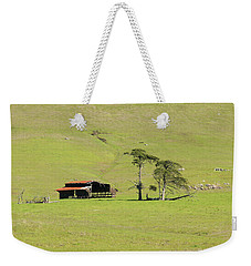 Weekender Tote Bag featuring the photograph Turri Road - San Luis Obispo Ca by Art Block Collections