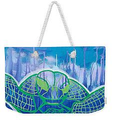 Turtle Weekender Tote Bag by Andres Pola